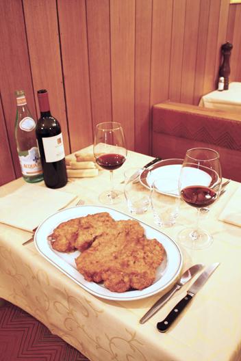 Venetian-style pork cutlet